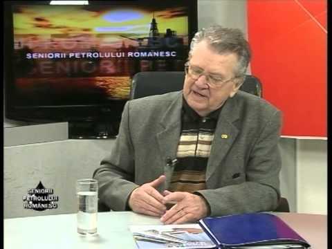 Emisiunea Seniorii Petrolului Românesc – Ștefan Traian Mocuța –  8 martie 2014