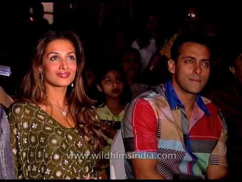 Salman in audience, Malaika Arora Khan uncurtains contest poster of movie Wajahh