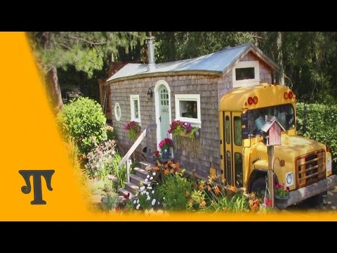 Turning a School Bus into a Home