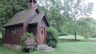 This tiny house chapel feels haunting with death memorabilia on it's shrine.  The feel is downtrodden & haunted.  Unlike a tiny house tour, this little temple of Christ will make you think of death and remembrance of people and places from the past.  Become a Patreon!  Get my PRIVATE videos for just $5/month as a paid subscriber!  https://www.patreon.com/BrettRodgers  Thanks for watching my videos!  Here are some links to products on my website:  Millet hull pillows:  http://www.brettsnaturalhealth.com/product/organic-millet-pillows/  Adjustable orthotics:    http://www.brettsnaturalhealth.com/product/adjustable-orthotics-2/  Soother & Foot Friend tools:  http://www.brettsnaturalhealth.com/product/soother-massage-tools/    Wood rollers:  http://www.brettsnaturalhealth.com/product/wooden-body-rollers-massage-tools/  Lanna rollers:  http://www.brettsnaturalhealth.com/product/lanna-roller-wooden-body-roller/  Back supports:  http://www.brettsnaturalhealth.com/product/back-support/  Friend me on Facebook:  https://www.facebook.com/Healthvideos4u  Make a donation:  http://www.brettsnaturalhealth.com/donate/   Thanks so much!Buy anything on Amazon and I'll make a commission!  Any Amazon affiliate product link on my site connects you to Amazon where I'll make 6% of ANYTHING you buy at that time!  Thank you!  http://www.brettsnaturalhealth.com/product/clay-ice-pack-excellent-non-toxic/