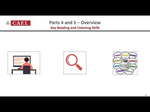 CAEL CE Online Course - Lesson 4 (Writing)