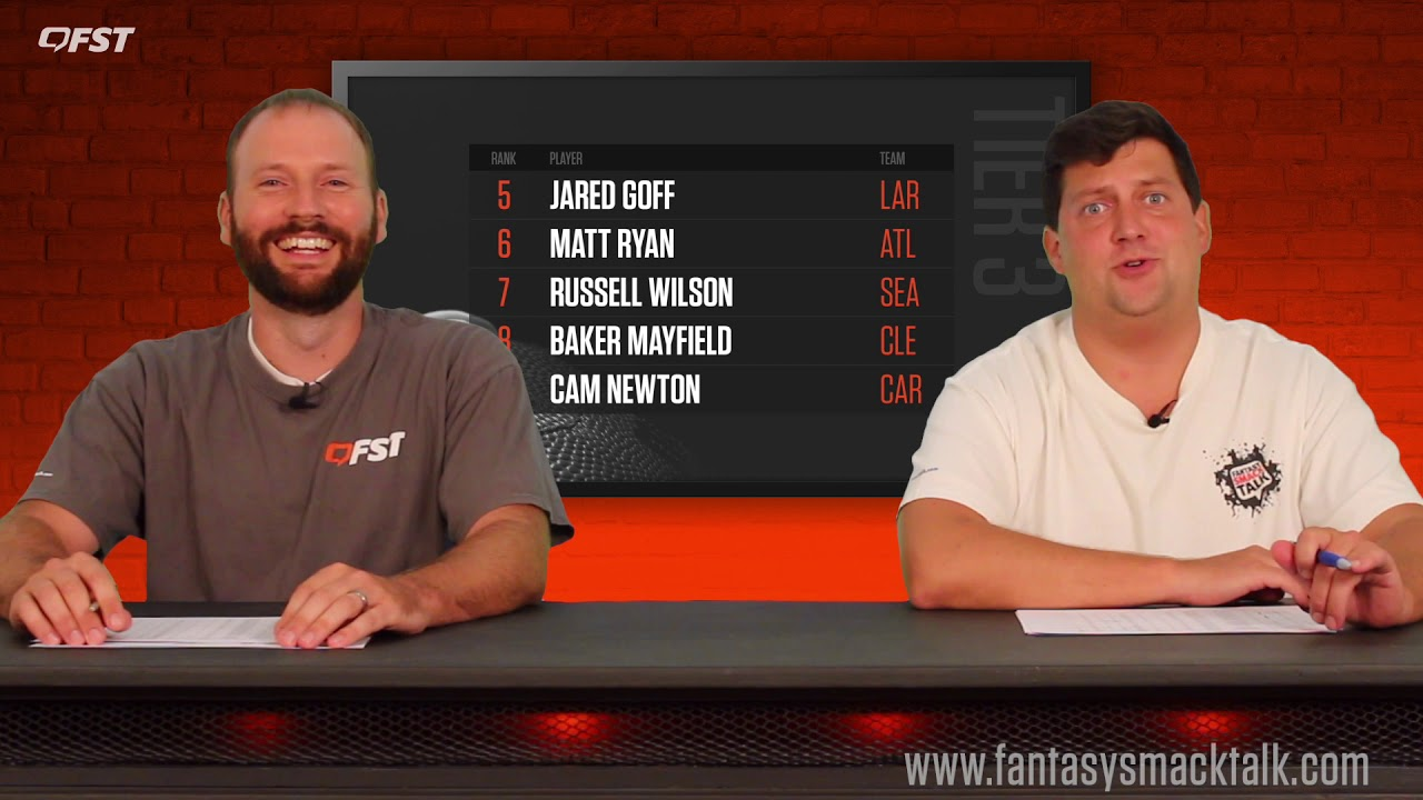 2019 Fantasy Football Quarterback Tiers and Rankings thumbnail