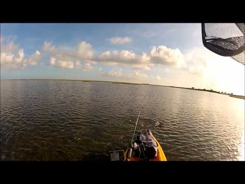 Kayak Fishing in West Galveston Bay – July 19, 2012
