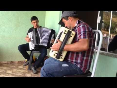 Dueto de acordeon  Mato rico - Pr