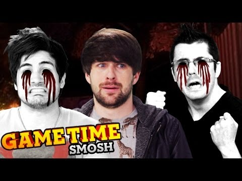 SO SCARED WE HURT OURSELVES – OCULUS RIFT AFFECTED (Gametime w/ Smosh Games)