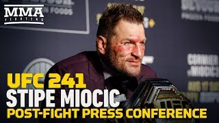 UFC 241: Stipe Miocic Post-Fight Press Conference - MMA Fighting by MMA Fighting