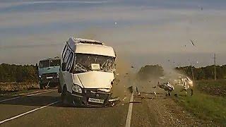 Жесткие аварии 3й недели Февраля 2016