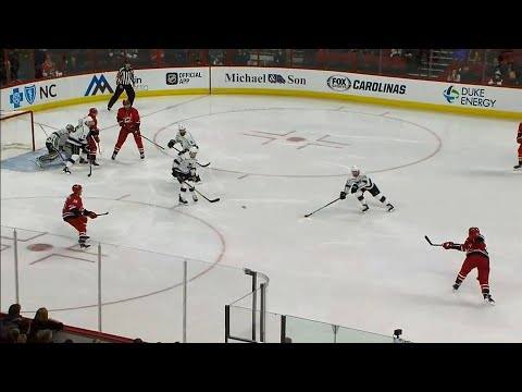 Video: Hurricanes' Justin Faulk records first career hat trick