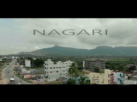 NAGARI Town Drone Shots - Unseen footage - from skies - 1080 HD