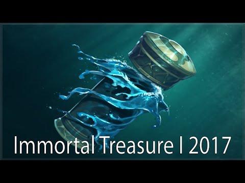 ОТКРЫВАЕМ Immortal Treasure I 2017 Dota 2
