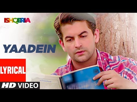 Yaadein Lyrical Video Song | Ishqeria | Richa Chad