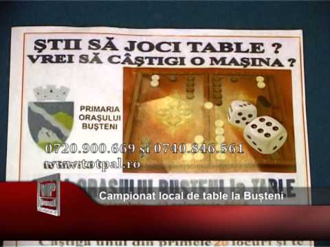 Campionat local de table la Bușteni