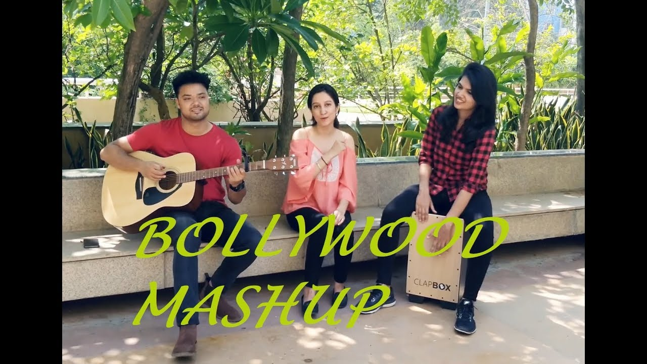 Bollywood Mashup | Harneet | Saurabh | Sujitha feat. Accoustic Guitar & Cajon Cover