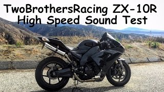 7. Two Brothers Racing M-2 VALE | Kawasaki ZX10R High Speed Sound Test