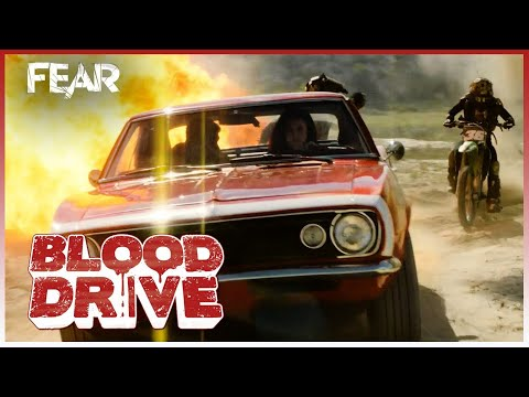 Chased by Barbarian Bikers | Blood Drive
