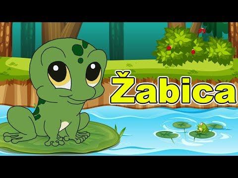 Žabica - Dečija pesma   Kre Kre Žabice - Pesmica za decu   Dečija pesma o životinjama   Frog song