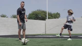 Star-Kick: Passing Technique Soccer Drill