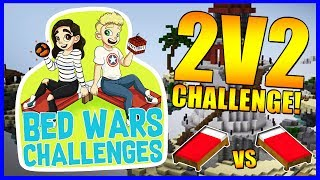 2V2 CHALLENGE!?   Bedwars Challenges #6   With NettyPlays