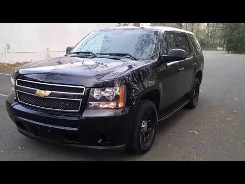 2013 BLACK Police Pursuit Tahoe PPV Highway Patrol North Jersey Emergency Veh