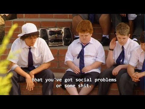 Jonah talks to a year 7 ranga - Summer Heights High