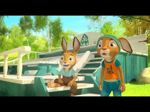 Școala Iepurașilor - Păzitorii oului de aur (Rabbit School) - Official Trailer RO dublat