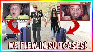 """We fly to our new home in California! The parents fly first class while Kayla and Tyler go in our suitcases in the luggage compartment. See how we all made it to California. Too funny! Subscribe https://www.youtube.com/c/wearethedavises?sub_confirmation=1Our mailing address:We Are The Davises28241 Crown Valley Pkwy Suite F #613Laguna Niguel, CA 92677""""We Are The Davises"""" is an entertaining family vlog channel based in Florida. Our daily videos show our real life moments, challenges, funny skits, and traveling adventures. Shawn is an outstanding father and husband that enjoys coaching children in team sports like football and wrestling. Connie is very creative with our channel as she makes everything in our lives as fun and entertaining as possible while still molding our kids into the amazing people they are today. Kayla is currently 12 years old. Her passion is competitive cheer leading and loves all animals from fluffy puppies to the little frogs. Tyler is 11 years old and is obsessed with playing video games and team sports such as football. We are excited to share our fun filled journey!Check out our gaming channel We Are The Davises Gaming if you love gaming videos.https://www.youtube.com/channel/UCShsPtvK0WzxjljpN4rhVzgPlease be sure to check out all of our social media platforms that we have listed below for you.Twitter:  https://twitter.com/wearethedavisesFacebook:  https://www.facebook.com/wearethedavises/Instagram: https://www.instagram.com/wearethedavises/Google+: https://plus.google.com/u/0/+WeAreTheDavises2016/postsSnapchat:  https://www.snapchat.com/add/wearethedavisesMusical.ly:  wearethedavisesDo you like certain types of videos? Come and check out the playlists that we have setup to make it easier for you to watch what you like.Here is a playlist of all our daily videos. https://www.youtube.com/playlist?list=PL1SgveIsSpIqtjNq-QnGHSHxv410nkJfyThis playlist was put together specifically for all you Kayla fans.https://www.youtube.com/playlist?list=PL1Sg"""
