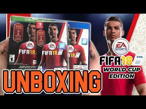 FIFA 18 World Cup Edition (PS4/Xbox One/Switch) Unboxing!!