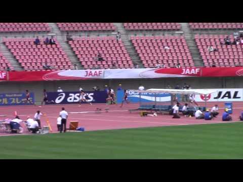 日本選手権男子200予選