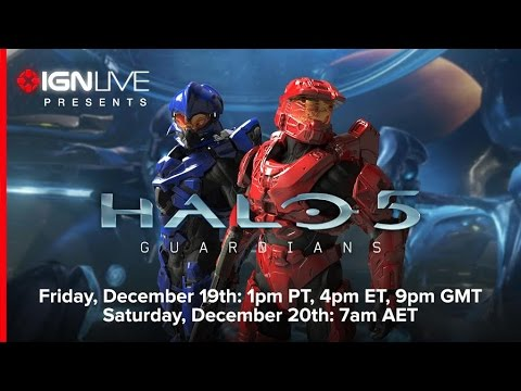 live - As always you can find the stream on IGN: http://www.ign.com/videos/2014/12/19/ign-live-presents-halo-5-multiplayer-beta We have early access to the Halo 5 multiplayer beta. Join us to see...