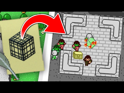 2D MINECRAFT MOB DUNGEONS!! Minicraft #2
