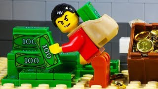 Video Lego Bank Robbery - Tunnel MP3, 3GP, MP4, WEBM, AVI, FLV Oktober 2018