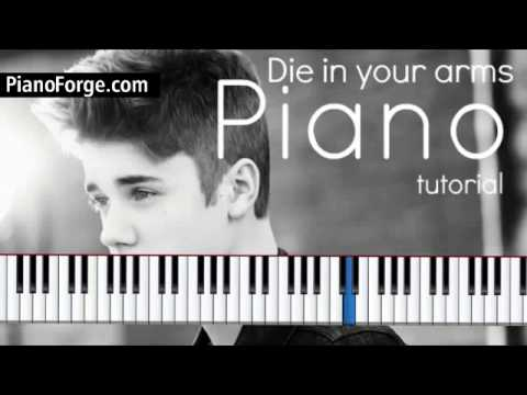 Die In Your Arms - Justin Bieber video tutorial preview