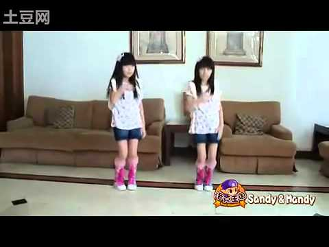 Sandy & Mandy - Gee(Girl's Generation) 2010.mp4