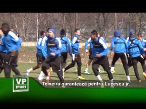 Teixeira garanteaza pentru Lucescu jr.