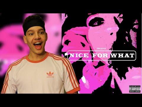 Drake- Nice For What   REACTION
