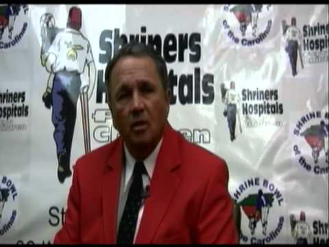 sj_preps - South Carolina 2012 Shrine Bowl Head Coach Ray Stackley of Stratford High School, Goose Creek, S.C., talks about his team.