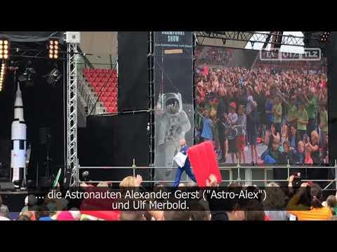 Tausende wollen »Astro-Alex« Alexander Gerst und den  ...