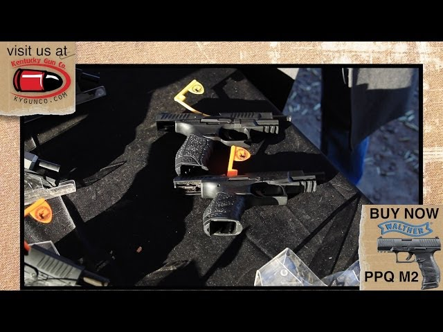 Walther PPQ M2 9mm & 22LR at SHOT Show 2014