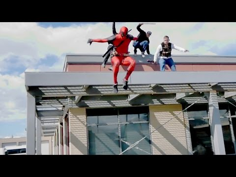 Deadpool Parkour 2017