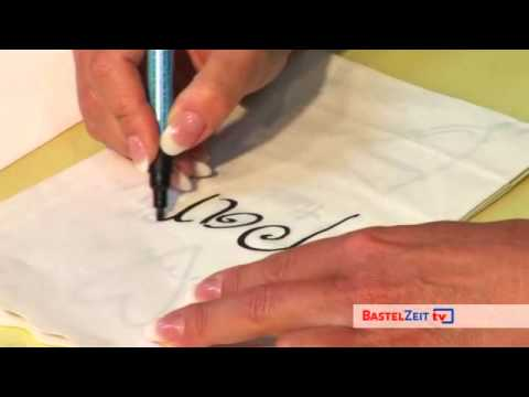 Bastelzeit TV 56 - Marabu Brilliantpainter
