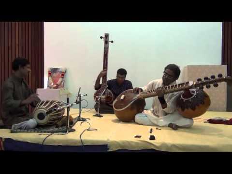 Dhrupad on Chandra Veena by Bala Chander - Raga Bhoopali (Composition) - Part 4