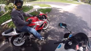 5. The Noobs First Ride - 2012 CBR 600RR