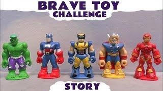 Superhero vs Supervillain Challenge