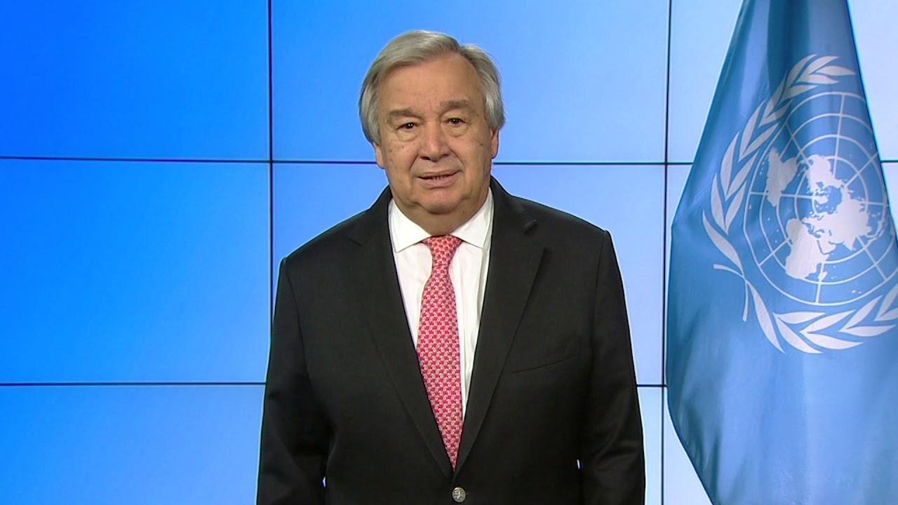 Глава ООН призывает вместе бороться с коронавирусом