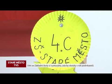 TVS: Staré Město - Jarmark žáků ZŠ