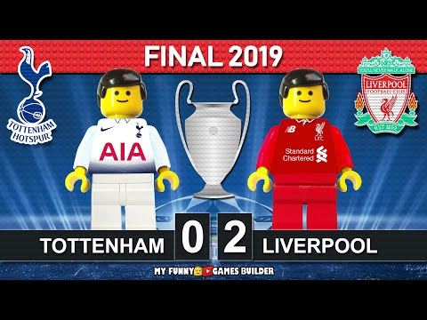Champions League Final 2019 🏆 Tottenham Vs Liverpool 0-2 •All Goals Highlights LEGO Football Film