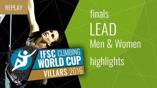 IFSC Climbing World Cup Villars Highlights Lead Finals by International Federation of Sport Climbing