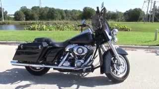 9. Used 2007 Harley Davidson FLHP Road King Police