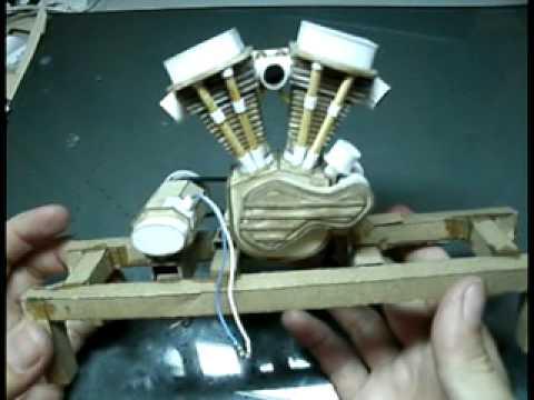 Miniatura Motor Panhead