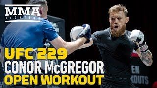 Video Conor McGregor UFC 229 Open Workout (Complete) - MMA Fighting MP3, 3GP, MP4, WEBM, AVI, FLV Oktober 2018